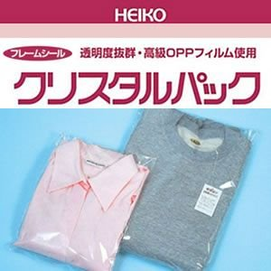 クリスタルパックF(フレームシール)(F45-70#6737100 HEIKO)50枚入り|iimono-ya