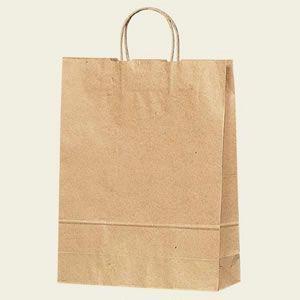 紙袋 25チャームバッグ  (2才未晒無地#3201200 HEIKO)50枚入り|iimono-ya