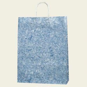紙袋 25チャームバッグ (2才雲竜青#3230101 HEIKO)50枚入り|iimono-ya