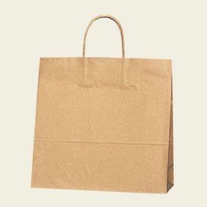 紙袋 25チャームバッグ (3才未晒無地#3251000 HEIKO)50枚入り|iimono-ya