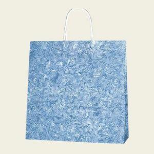 紙袋 25チャームバッグ (3才雲竜青#3260201 HEIKO)50枚入り|iimono-ya