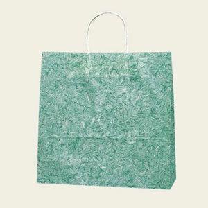 紙袋 25チャームバッグ (3才雲竜緑#3260200 HEIKO)50枚入り|iimono-ya