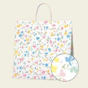 紙袋 25チャームバッグ (3才ペールフラワー#3260100 HEIKO)50枚入り|iimono-ya