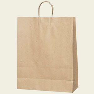 紙袋 25チャームバッグ (カスタムB未晒無地#3282410 HEIKO)50枚入り|iimono-ya