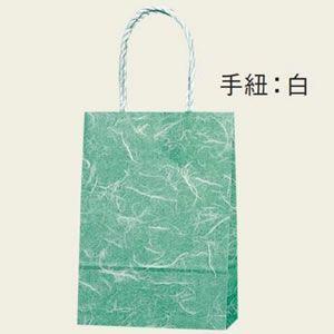 紙袋 スムースバッグ (18-07雲竜緑#3156400 HEIKO)25枚入り|iimono-ya