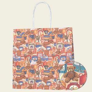 紙袋 Pスムース (3才ベアーズライフ#3154108 HEIKO)25枚入り|iimono-ya
