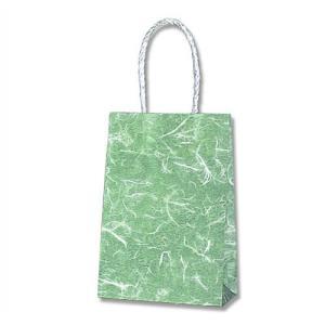 紙袋 スムースバッグ 16−2 (雲竜 緑 #3137810 HEIKO) 25枚入り|iimono-ya