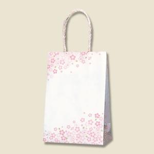 紙袋 スムースバッグ 16−2 (紅桜 #3137876 HEIKO) 25枚入り|iimono-ya