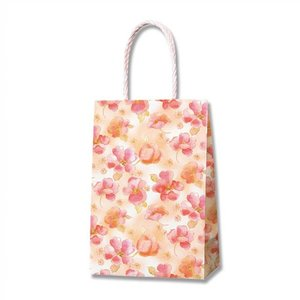 紙袋 スムースバッグ 16−2 (シフォンフラワー #3137880 HEIKO) 25枚入り|iimono-ya