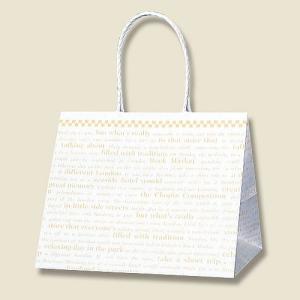紙袋 Pスムース 25−19 (チェッカー #3155302 HEIKO) 25枚入り|iimono-ya