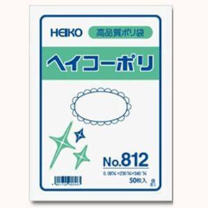 ポリ袋 HEIKO No.812 厚さ0.08mm サイズ230×340 [50枚入り]|iimono-ya