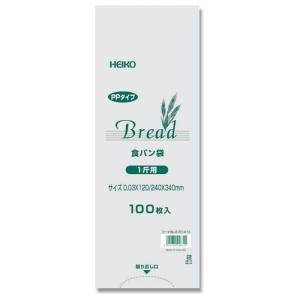 PP 食パン袋 1斤用 100枚入り HEIKO|iimono-ya