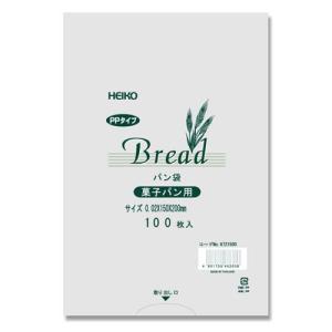 PP パン袋 菓子パン用 100枚入り HEIKO|iimono-ya