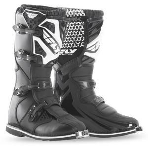 送料無料 FLYRACING MAVERIK ブーツ BLACK 7インチ 約25.0cm|iimono-ya