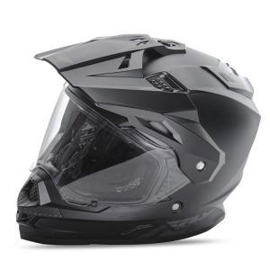 送料無料 FLY RACING TREKKER フライ トレッカー ヘルメット MATT BLACK M PSCマーク付き正規輸入品|iimono-ya
