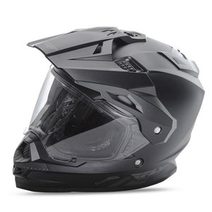 送料無料 FLY RACING TREKKER フライ トレッカー ヘルメット MATT BLACK L PSCマーク付き正規輸入品|iimono-ya