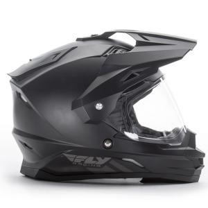 送料無料 FLY RACING TREKKER フライ トレッカー ヘルメット MATT BLACK XL PSCマーク付き正規輸入品|iimono-ya|02