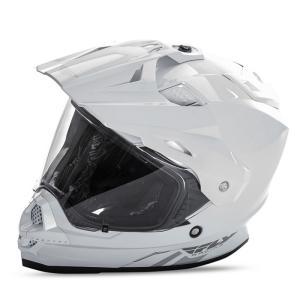 送料無料 FLY RACING TREKKER フライ トレッカー ヘルメット WHITE XL PSCマーク付き正規輸入品|iimono-ya