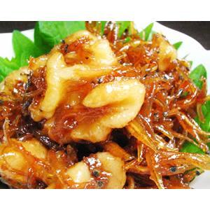 北海道産 生たき しらす くるみ in 佃煮 400g(極小ちりめん) ご当地グルメギフト|iimono-ya