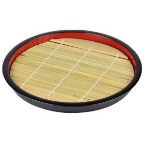 パール金属 匠庵 ざる そば 皿 天ぷら食器 丸型 竹 すのこ付  匠庵 日本製 H-5281|iimono-zakka