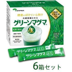 グリーンマグマ 30包 6個セット 【送料無料】