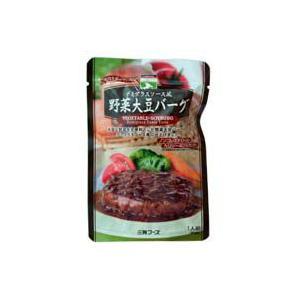 三育フーズ デミグラスソース風野菜大豆バーグ iimonokenko