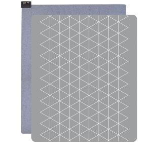 ホットカーペット(3畳相当 グレー/幾何柄) 暖房器具 広電 KODEN VWU3015-PHG|iimonotown