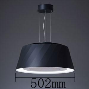 空気清浄機能付き LEDペンダント ブラック【コード吊】cookiray クーキレイ 富士工業  C-BE511-BK|iimonotown