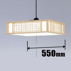 LED 和風ペンダント【コード吊】 日立 HITACHI 高級和風木枠シリーズ LEP-CA805EJ|iimonotown
