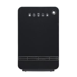 人感センサー付セラミックファンヒーター(ブラック) 暖房器具 山善 YAMAZEN DSF-VN12-B|iimonotown