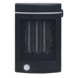 人感センサー付セラミックファンヒーター(ブラック) 暖房器具 山善 YAMAZEN DMSF-J06-B|iimonotown