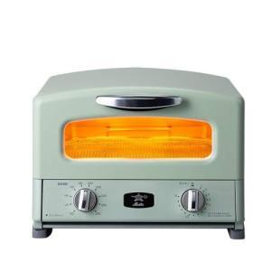 発熱時間はわずか0.2秒 グリルパンの中は最大330℃の高温で一気に焼き上げるアラジン魔法のトースタ...