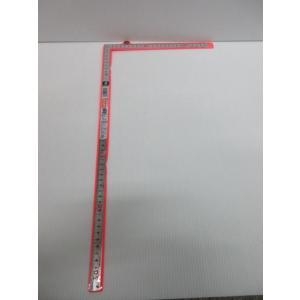 シンワ 同厚同目 曲尺シルバー 50cm 品番10640 差し金 曲尺