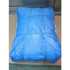 SC 佐藤ケミカル ブルーシート 軽量タイプ 2間×3間 約3.4m×約5.3m 10枚入
