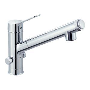 ▽INAX/LIXIL【JF-AJ461SYXB(JW)】分岐水栓(ハンドシャワー付) AJタイプ シングルレバー混合水栓(分岐口付) iisakura39