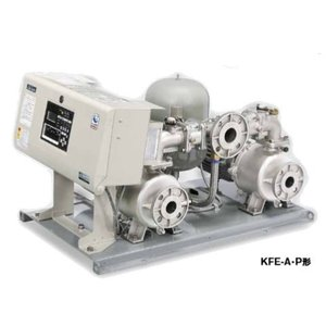 川本 ポンプ【KFE32A0.75】KFE-A形 ポンパーKFE ステンレス製速度制御給水ユニット 交互運転 iisakura39