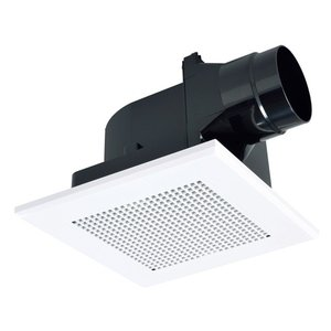 三菱 換気扇【VD-13ZLC12-S】ダクト用換気扇 天井埋込形 サニタリー用 低騒音形(旧品番 VD-13ZLC10-S)|iisakura39