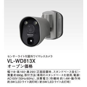 ∬∬パナソニック【VL-WD813X】センサーライト付屋外ワイヤレスカメラ iisakura39