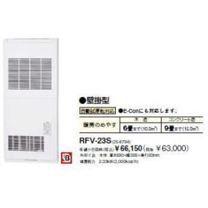 リンナイ ファンコンベクタ【RFV-23S】壁掛型 自動試運...