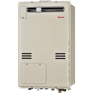 リンナイ ガス給湯暖房用熱源機【RUFH-A2400SAW2-3】オート 屋外壁掛・PS設置型 24号 2-3 床暖房3系統熱動弁内蔵|iisakura39