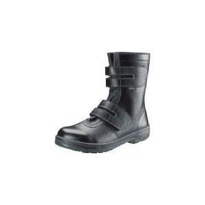 ■〒シモン/シモン 安全靴 長編上靴マジック式 SS38黒 26.0cm【SS38-26.0】(3683141) 受注単位1