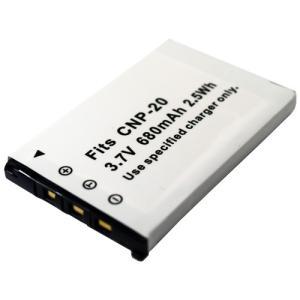 カシオ(CASIO) NP-20 互換バッテリー