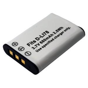 ペンタックス(PENTAX) D-LI78 / ニコン(NIKON)EN-EL11 / オリンパス(Olympus) LI-60B 互換バッテリー