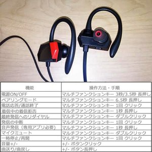 Bluetooth4.1 ワイヤレスイヤホン ...の詳細画像4