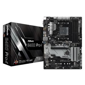 ASRock B450 Pro4 [ATX/AM4/B450] AMD B450チップセット搭載 A...