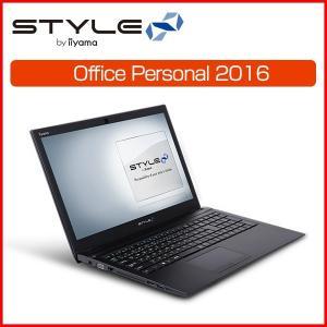 [Office Personal] iiyama ノートPC STYLE-15HP038-i5-UHEM [15.6型HD/Windows 10 Home/Core-i5 8250U/8GB メモリ/1TB HDD]|iiyama-pc
