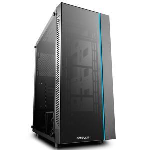 Deepcool MATREXX 55 ミドルタワーPCケース E-ATX対応 RGB LEDストリップをフロントに搭載|iiyama-pc