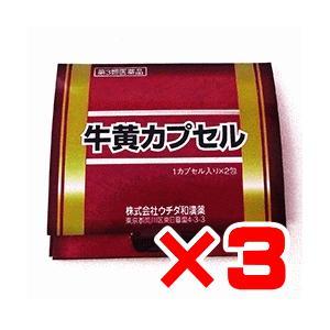 ウチダ和漢 牛黄カプセル 2カプセル×3個 【第3類医薬品】 ポイント13倍|ikawayakuhin