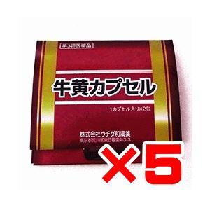 ウチダ和漢 牛黄カプセル 2カプセル×5個 【第3類医薬品】|ikawayakuhin