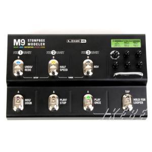 Line6 M9 Stompbox Modeler 【価格改定によりプライスダウン!】 【ポイント5...